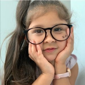 Ray Ban Junior Eyeglasses RY1554 3729 48 Tortoise